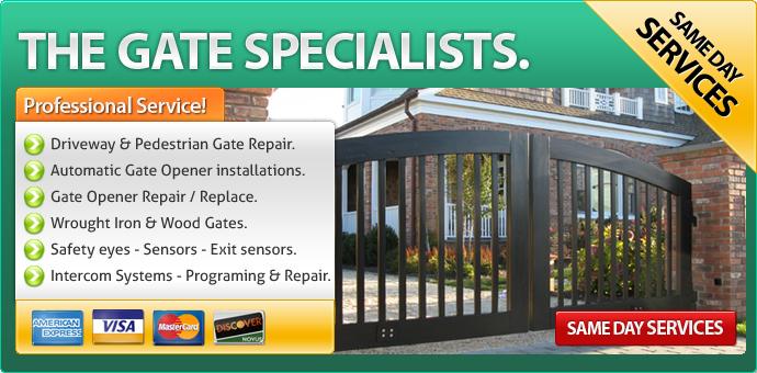Gate repair La Canada Flintridge CA